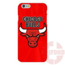 Soft TPU Silicon Accessories Case For Apple iPhone 4 4S 5 5C SE 6 6S 7 7S Plus 4.7 5.5 High Definition Print Chicago Bulls