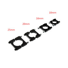 4pcs Quadcopter Ultralight Nylon Fiber Plastic 10mm 16mm 20mm 25mm Tube Mount Holder Clamp Seat for DIY Quadcopter Multicopter(China)