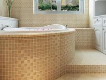 Minimal Art Extra Thick Ceramics Mosaic Tile Bathroom Anti-skidding Floor Tile Bathtub Decoration Fireplace TV Backdrop Wall(China)