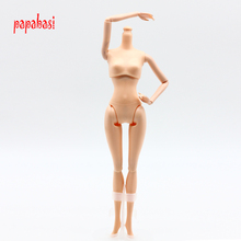 1pcs Naked Body Necessary For DIY Twelve Joints Doll Body Without Head For Barbie Doll