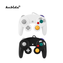 kebidu High Quality Joypad Game Handle Stick Pad Controller Wired Shock Black for Nintendo for Wii Gamecube(China)