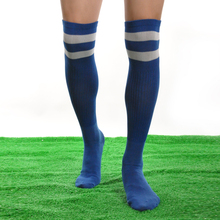 Wholesale Football Socks Barreled Thin sock Sweat Absorbing Breathable Men Sport long Adult Football 10 colors for choice