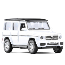 RMZ City SUV Benz G63 AMG 1:36 Toy Vehicles Alloy Pull Back Mini Car Replica Authorized By The Original Factory Model Toy 5 inch