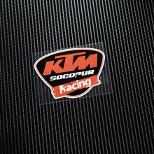 NO.TP083 Free shipping MOTO GP SBK KTM Reflective Car Sticker Decals Motorcycle Racing Stickers Motorbike Helmet Windshield ATV