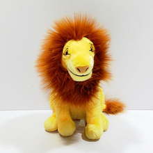 30cm 12 inch Lion King Adult Simba Cute Anime Plush Toys Soft Toy Stuffed Animals Dolls For Children Boys Gifts jouets peluche(China)
