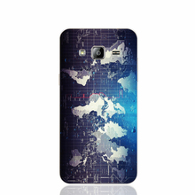 18510 a Science and Technology map of world cell phone case cover for Samsung Galaxy J1 ACE J5 2015 J7 N9150