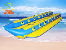 Inflatable 16 Person Towable Water Tubes Ski Flotation Tube Banana Boat Towables