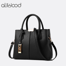 Buy Aliwood New Simple Women bag PU Leather handbags Ladies Shoulder bag Females Tote Messenger bags Crossbody Bags Bolsas Feminina for $15.82 in AliExpress store