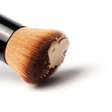 New professional  Wooden Handle Make Up Brushes For Powder Concealer Blush Powder Tool