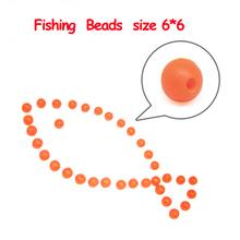 50pcs glowing fishing floats light Olva/Round beads Luminous buoy accessories bulk flotador flotteur for night fishing(China)