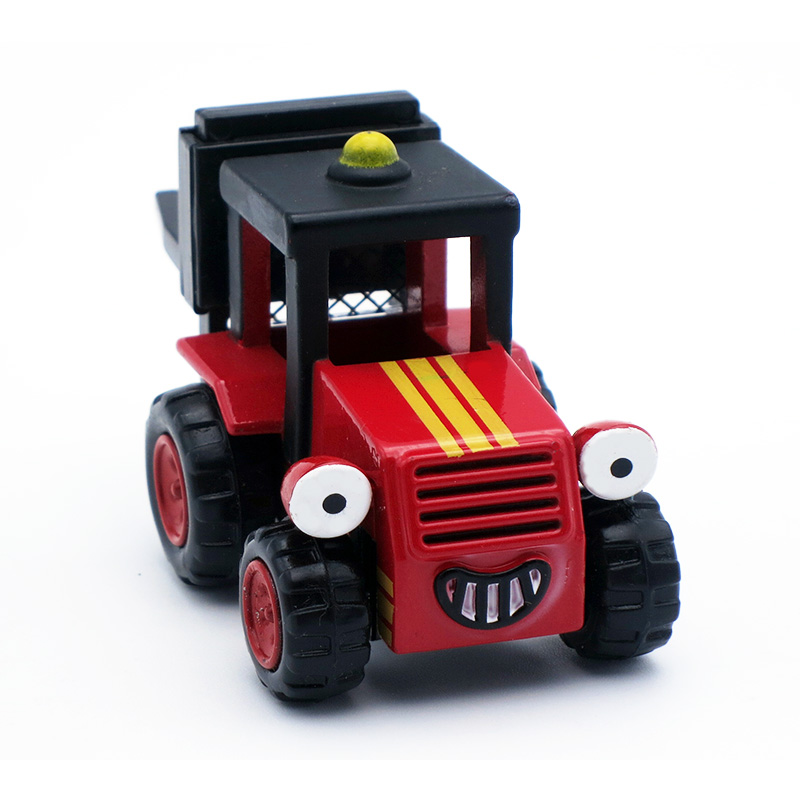 Red bob the builder Diecast Trix Forklift2