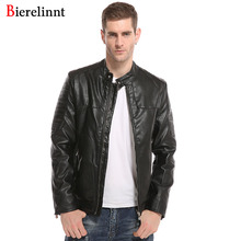 2017 Good Quality New Arrival Casual Fashion Jacket Men,Autumn & Winter Slim Outerwear Cotton Coat Leather Men Jacket,8872(China)