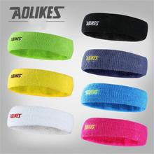 Women Men Sweat Sweatband Headband Yoga Gym Exercise Fitness Stretch Head Band Hair Badminton Grip Sports Safety Football M038