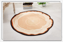 Modern minimalist round mats IKEA hanger mats study bedroom bedroom living room Nordic carpet bedside computer cushions(China)