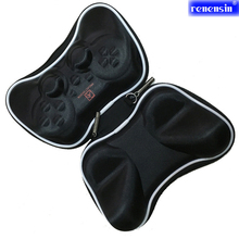 Protective Carry Hard Bag Airform Game Pouch Case Shell For SonyPlaystation 3 PS3 Controller Joystick Joypad Accessories