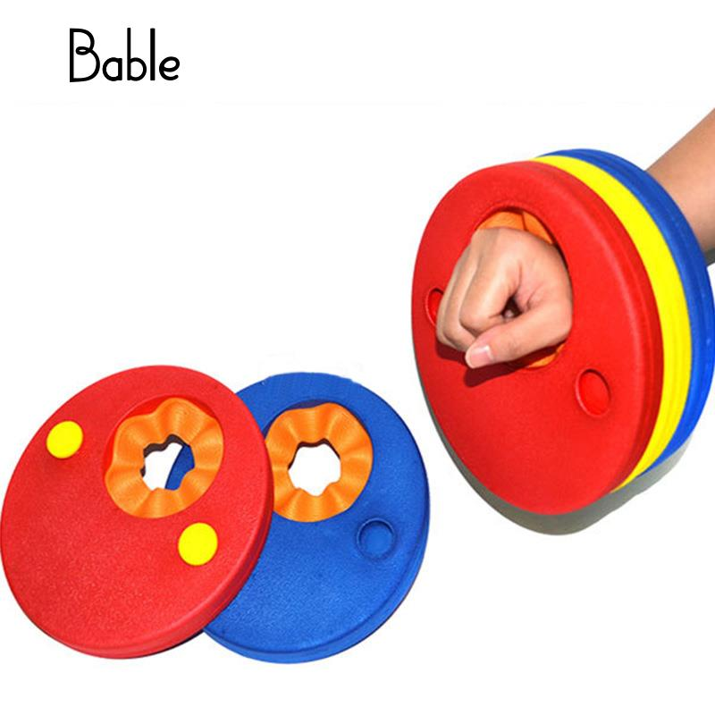 6 Stücke Eva-schaum Schwimmen Discs Arm Bands Schwimm Sleeves Frei Aufblasbaren Schwimm Bord Übungen Auftrieb Kreise Ringe