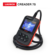Launch X431 Creader 7S OBD Code Reader scanner with Oil Reset Function Creader 7 Plus Update Via Official Website Free shipping