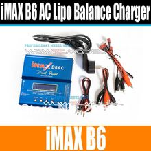 NEWEST 80W iMAX B6 AC B6AC 3S Lipo/NiMH RC Digital Battery Balance Charger for Trex 450 Helicopter(China)