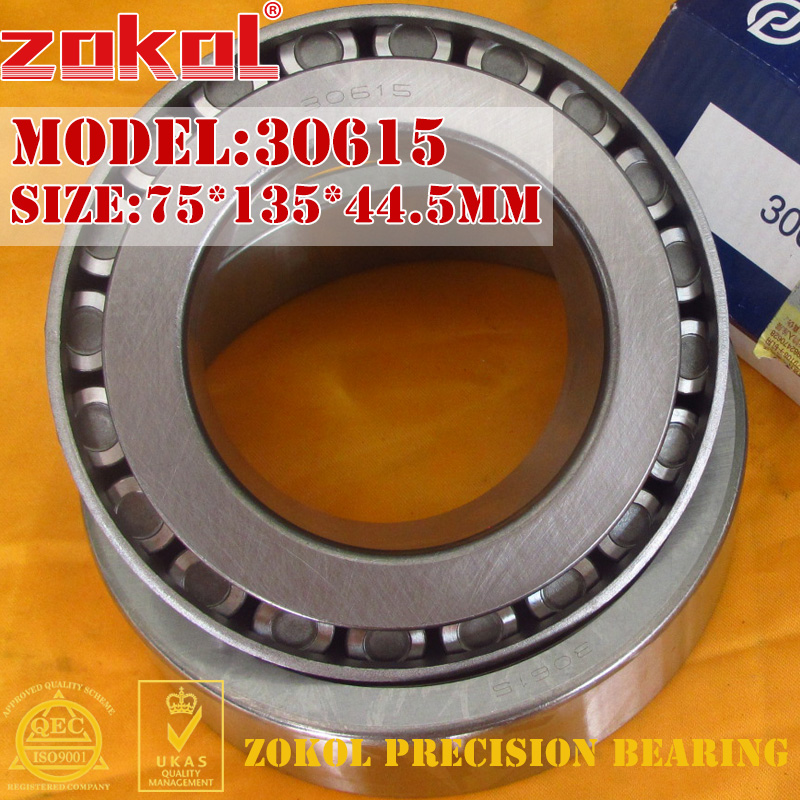 ZOKOL bearing 30615 7815E Tapered Roller Bearing 75*135*44.5mm<br>