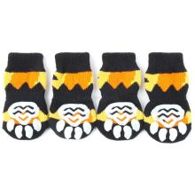 Factory Price! Hot Dog Pet Non-Slip Socks S M L XL Multi-Colors -Puppy Shoe Doggie Clothes Hot