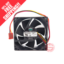 NEW COOLER MASTER  8025 8CM A8025-30RB-3AN-P1 12V 0.24A cooling fan