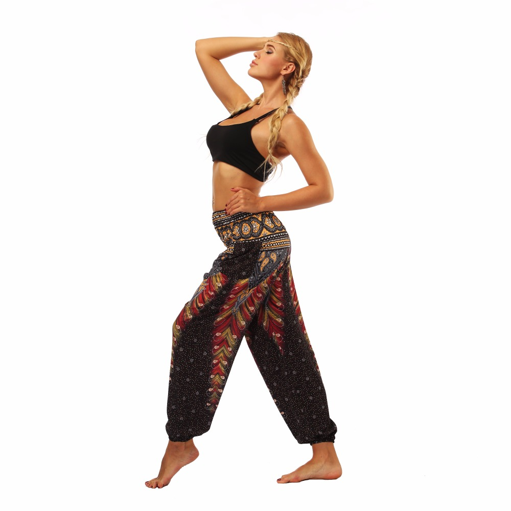 TL004- Brown wide leg loose yogqa pants leggings (5)