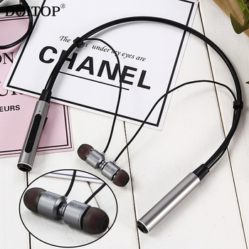 DOITOP Wireless Bluetooth Stereo Headset Sport Runing Music Headphone Neckband Earphone Handsfree Call in-Ear Earbud Earpiece O5