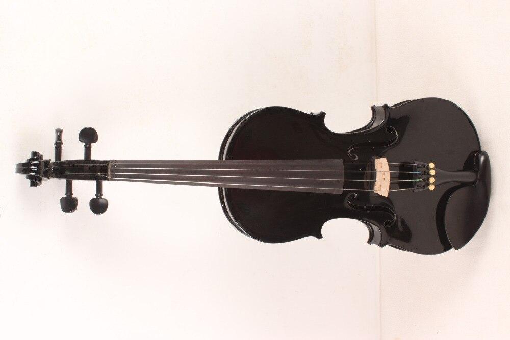 4-String 4/4 New Electric Acoustic Violin black #1-2481#<br><br>Aliexpress