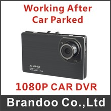 Inexpensive 1080P Car dash board camera, support delay power and parking recording function, 32GB micro sd card used