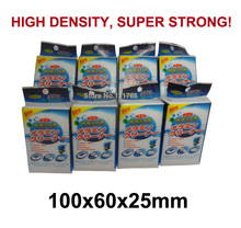 White Magic sponge nano Melamine sponge HIGH DENSITY SUPER STRONG 100x60x25mm with individual package