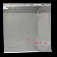 100 pcs / Lot CD Box Jewel Disc Case Holder Storage Plastic Wrap Sleeves Bags Clear