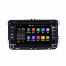 "Quad Core 1024*600 Android wifi 7"" In dash car dvd player gps nav for vw Jetta  Golf GTI Passat Polo Caddy 16G Nand Flash"