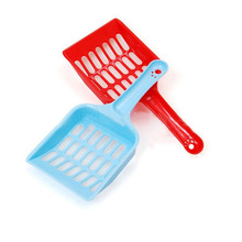 New Plastic Pet Dog Puppy Cat Litter Scoop Sand Waste Scooper Cleaning Clean Tool Randomly For Small Puppy(China)