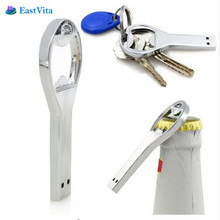 EastVita Hot sale Beer bottle opener key chain usb flash Drive Memory Stick Drives 64GB 8GB 4GB usb /pen USB Flash Driver AR30(China)