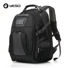 YESO Large Capacity Laptop Backpack Men Multifunction Waterproof 15.6inch Backpack For Teenagers Business Casual Travel Backpack(China)
