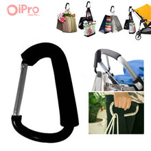 2 Pcs/lot Baby Stroller Accessories Aluminium Alloy Baby Carriage Hook For Pram Pushchair Hanging Hanger