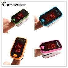 Pulse Oximeter Oximetro de pulso de dedo LED Display Saturometro Pulsioximetro 4 Color Drop Shipping(China)