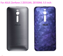 100% Original Door Back Cover Battery Cover Housing Case For ASUS ZenFone 2 ZE551ML ZE550ML 5.5inch with NFC