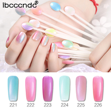7ml Shiny Pearl Shell Gel Nail Polish Nail Art Design Manicure Varnish Soak Off Enamel UV Gel Polish Lacquer Need Base Top Coat(China)