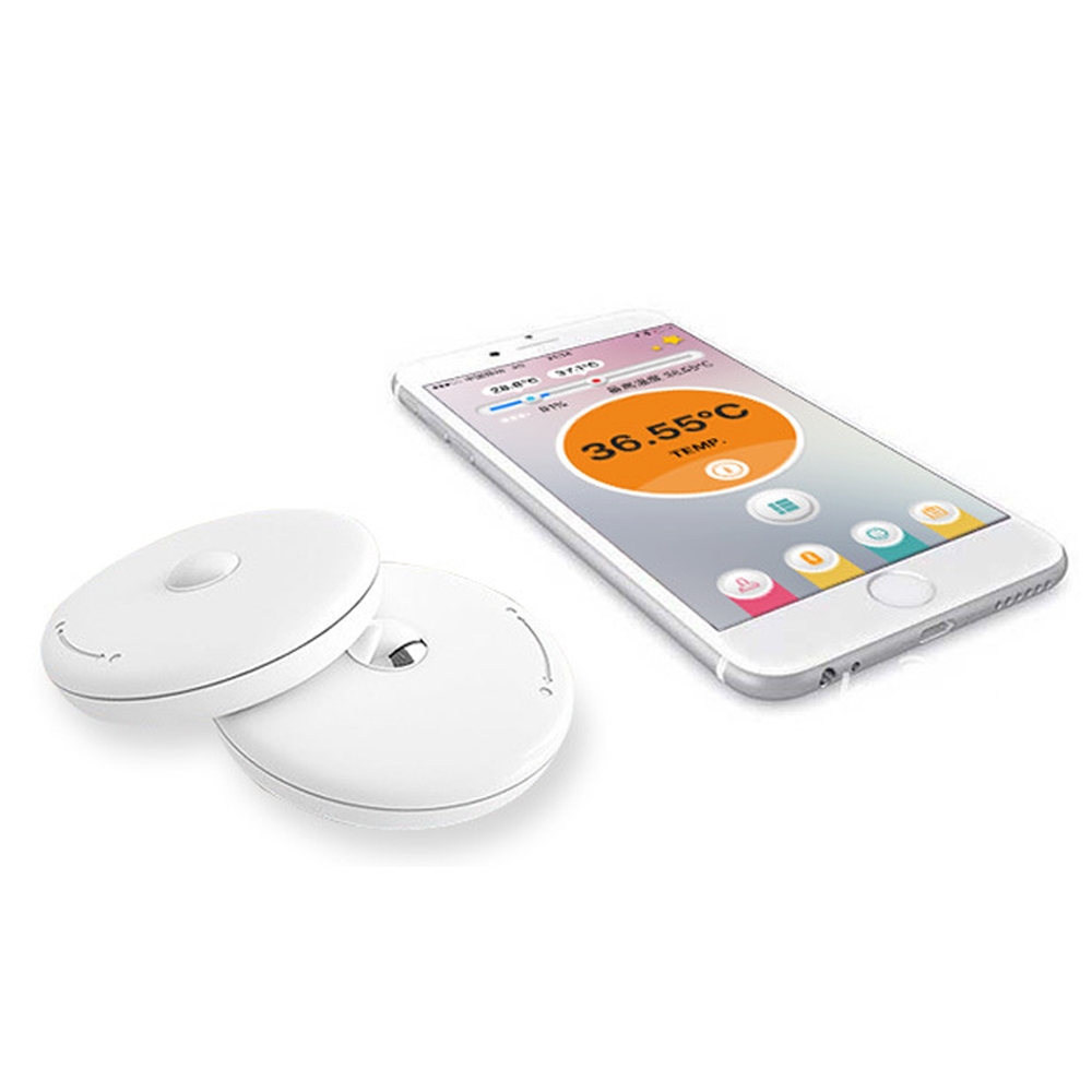 Smart Thermometer Child Smart Wear Thermometer Smart Bluetooth Monitor Home Smart Thermometer<br>