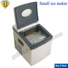 20kg/24h household full-automatic small ice machine portable diamond ball ice maker DIY drink ice making