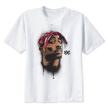 2pac t shirt Makaveli tupac T Shirt rapper Snoop Dogg Biggie Smalls The Game eminem J Cole jay-z Savage hip hop rap music Tops(China)