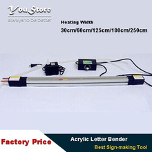 Table Acrylic letter Hot-bending Machine Plexiglass PVC Plastic board advertising channel bender 125cm(Hong Kong)