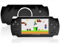 "4.3"" LCD Game Console PMP MP4 MP5 Player 8GB Free 2000+ games Media Player AV-Out/FM with Camera"
