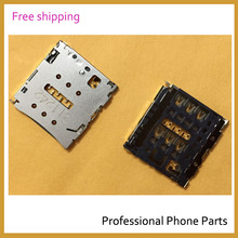 2 Pcs /Lot Original SIM Card Tray Slot Holder Reader Connector For Huawei ascend P6 P6-U06 P6-C00 P6-T00 P6-U00 , Free Shipping