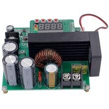 B900W LED Control Boost Converter DIY Voltage Transformer Module Regulator Input DC 8-60V 10-120V 900W 40%