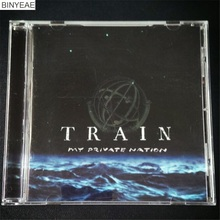 BINYEAE- New CD Seal: TRAIN - My Private Nation - - Album CD light disk [free shipping](China)