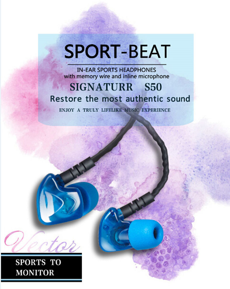 Metal Earphones Dj Headset For phone Earphone with mic Auriculares In Ear Monitors Professional Fone De Ouvido PLEXTONE S50<br><br>Aliexpress