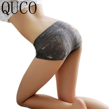 Buy QUCO Brand 10pcs Underwear Women G string Sexy String Lingerie Lace Thong Seamless Briefs Transparent Panties Knickers W9