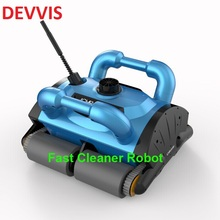 Swimming Pool equipment Automatic Climbing Wall Robot Vacuum Cleaner With Remote Control Function(China)